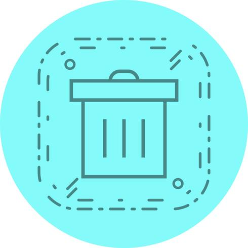Diseño de iconos de basura