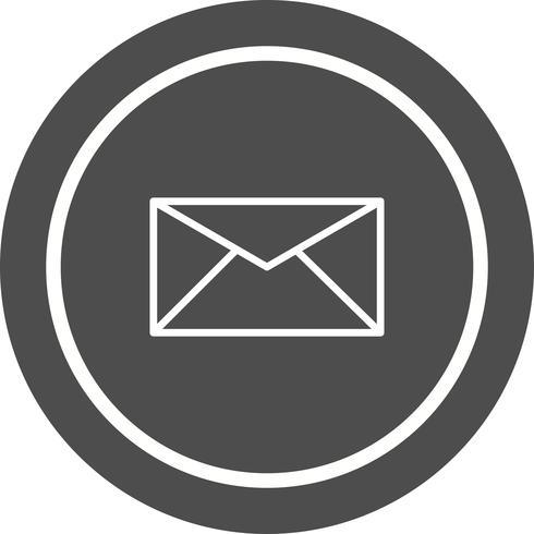Diseño de icono de bandeja de entrada vector