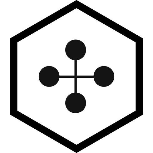 diseño de iconos de construcción de enlaces vector