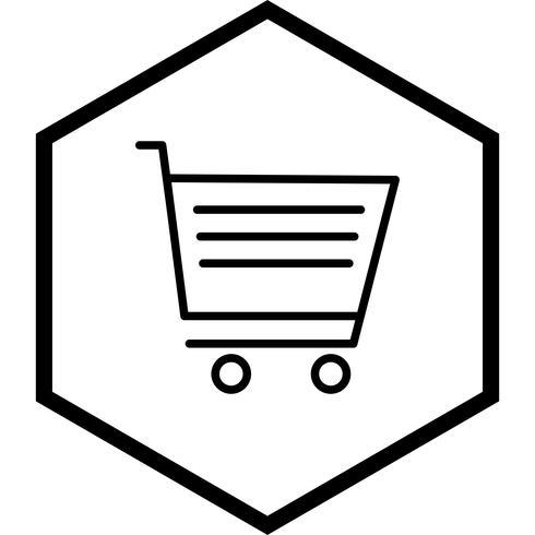 Diseño de icono de carrito