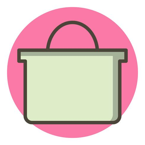 Shopping Icon Icon Design vettore