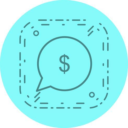 Stuur geld pictogram ontwerp