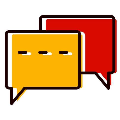 Conversation Icon Design