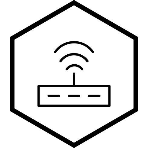 Diseño de icono de enrutador