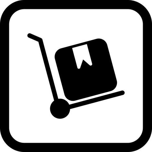 Trolley pictogram ontwerp