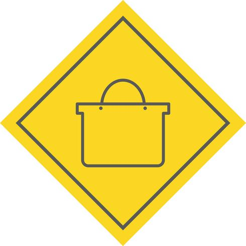 Design de ícone de sacola de compras