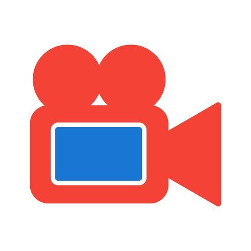 Cámara de video icono de diseño vector