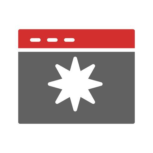 Design de ícone de qualidade de página