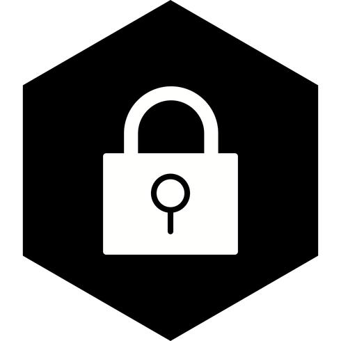 Lock Icon Design vector