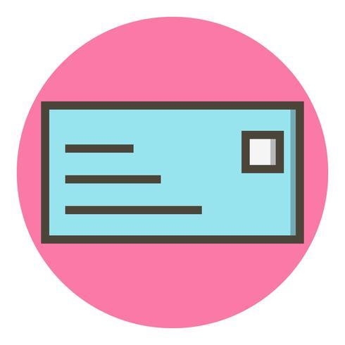 Diseño de icono de tarjeta de identificación