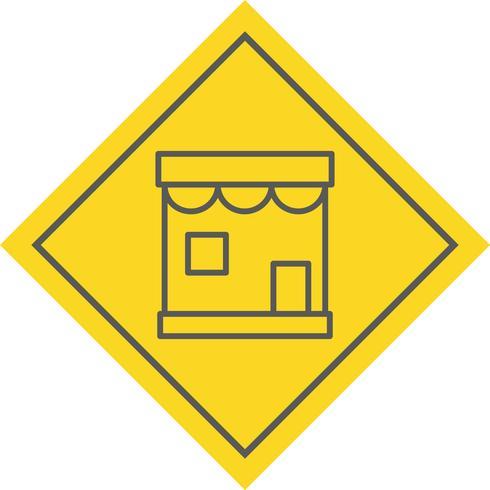 Winkel pictogram ontwerp