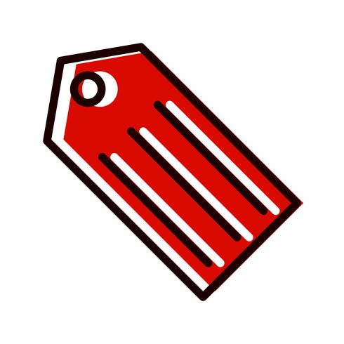 tag pictogram ontwerp