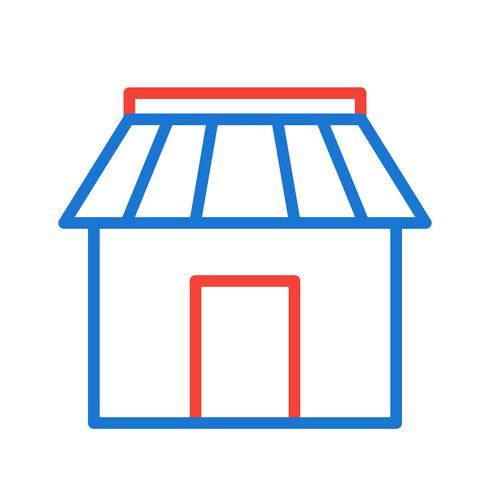 Diseño de icono de tienda