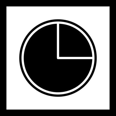 Diseño de iconos de gráfico circular