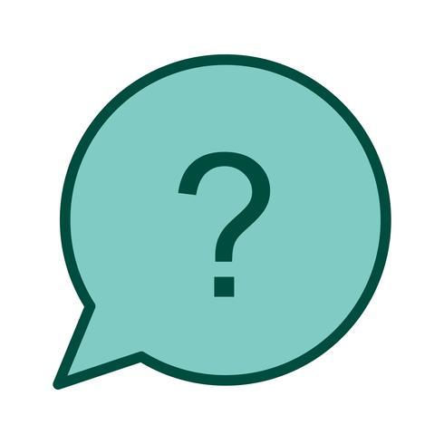 Frage-Icon-Design