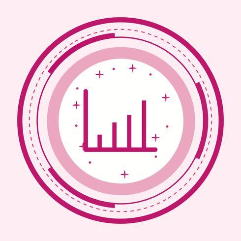 Design de ícone de estatísticas