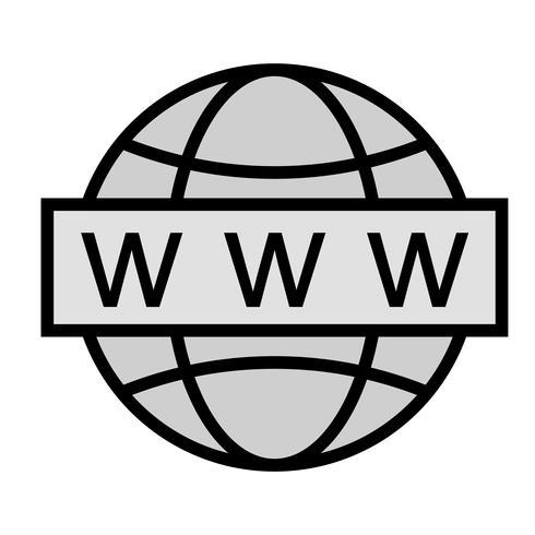 Web Search Icon Design