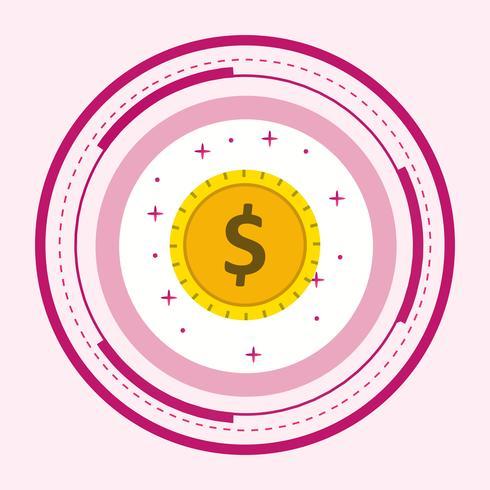 Dollar-Münzen-Design
