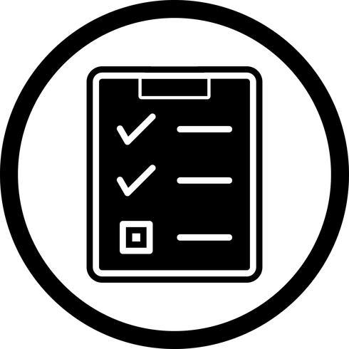 Checklista Icon Design