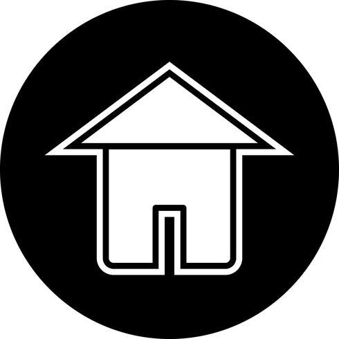 diseño de icono de casa vector