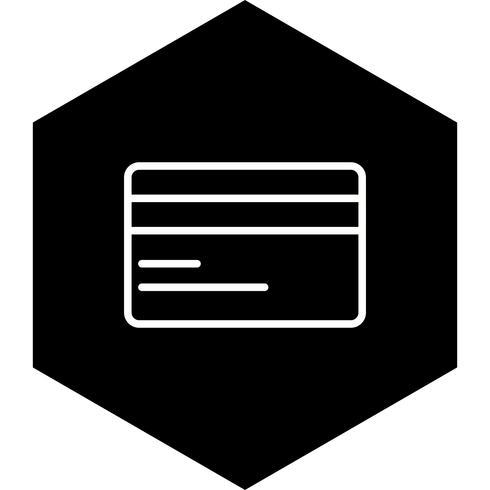 Creditcard pictogram ontwerp