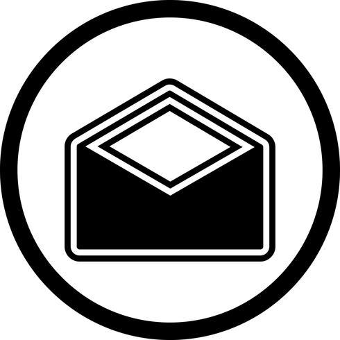Diseño de icono de sobre