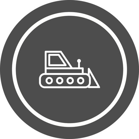 Bulldozer Icon Design