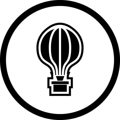 Air Balloon Icon Design