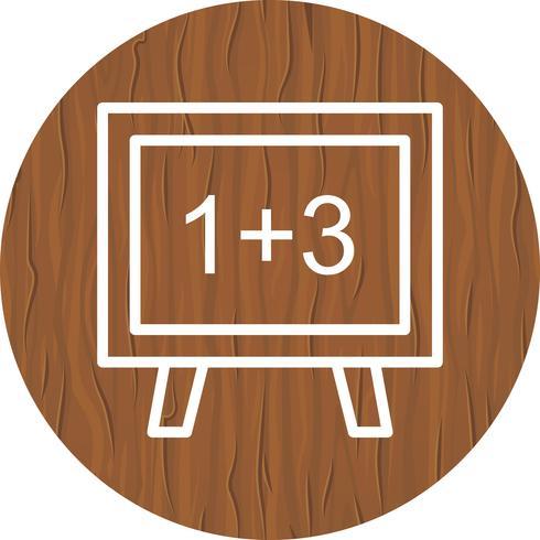 Design de ícone de matemática