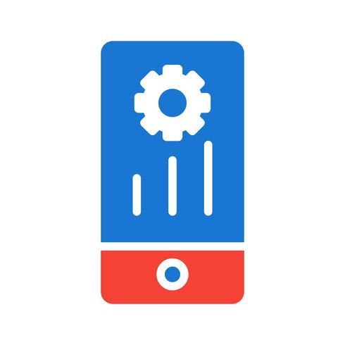 Conception d'icônes de marketing mobile