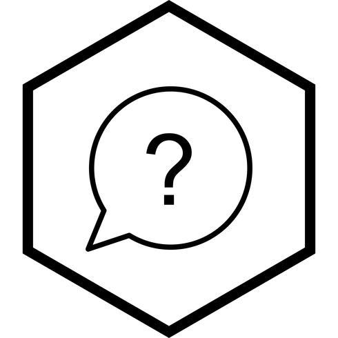 Design de ícone de pergunta