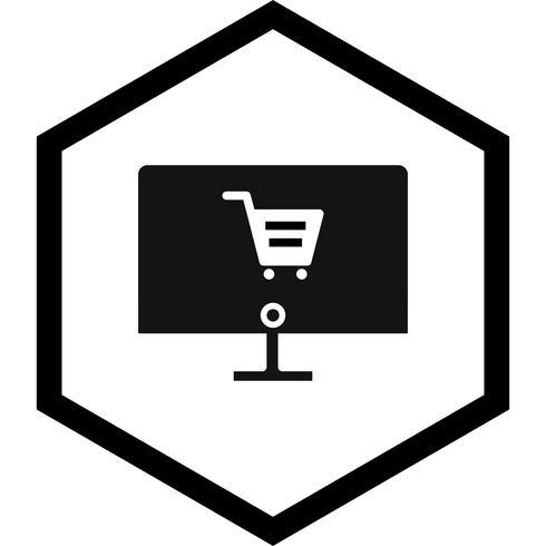Online Shopping Icon Design