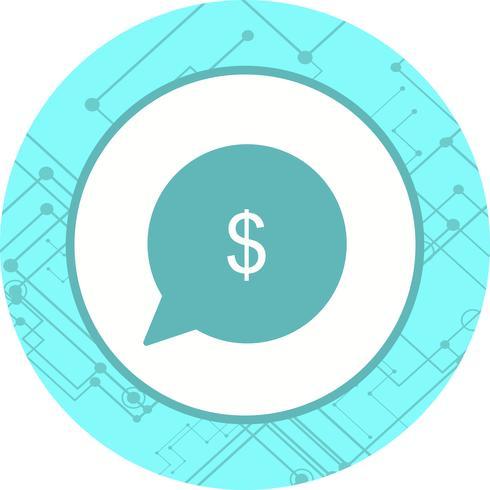 Geld-Icon-Design senden