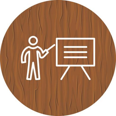 Ensinando ícone do design