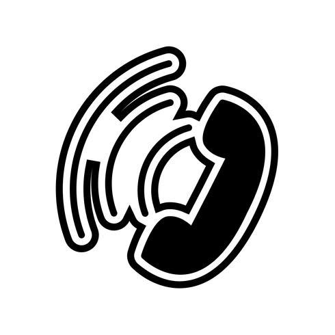 Disegno dell'icona di chiamata attiva