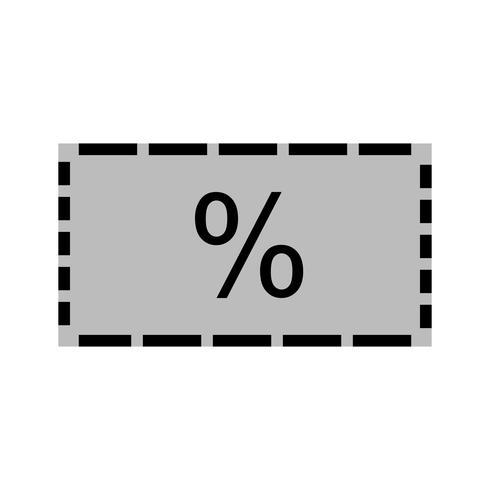 Design d'icône discount