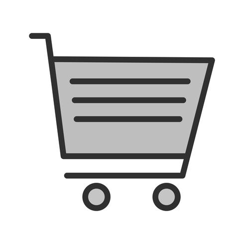 Diseño de icono de carrito vector