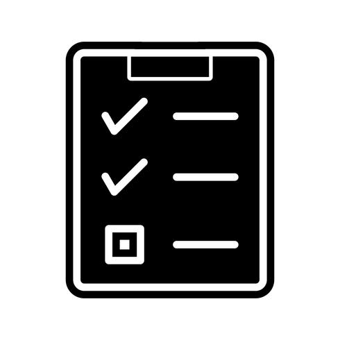 Checklista Icon Design