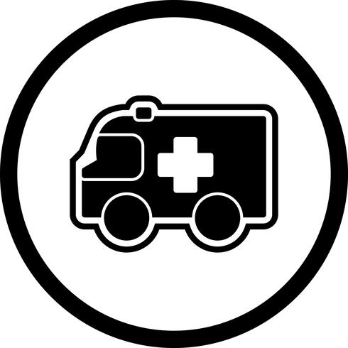 Ambulance pictogram ontwerp