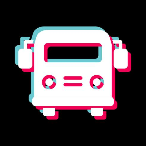 School bus Icon Design