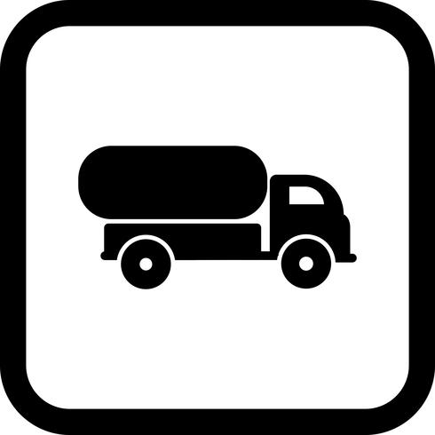 tank truck icon design