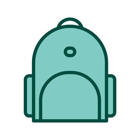 Design de ícone de mochila