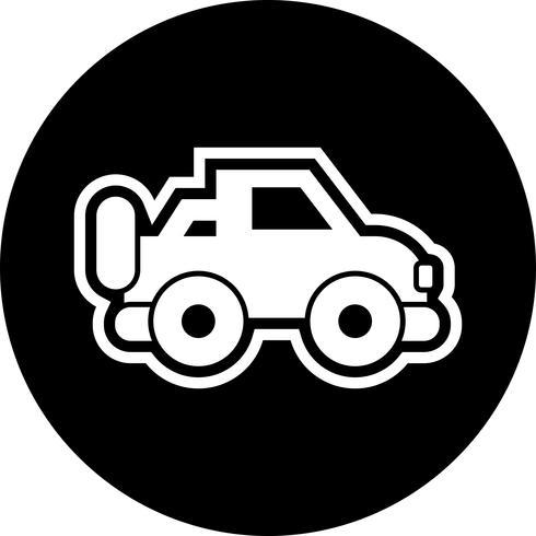 disegno dell'icona di jeep