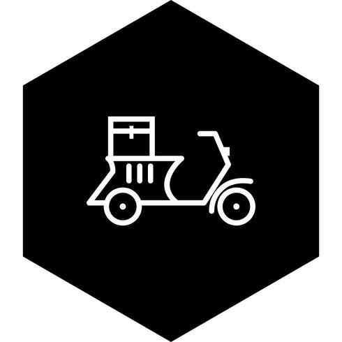 Entrega Moto Icono De Diseño