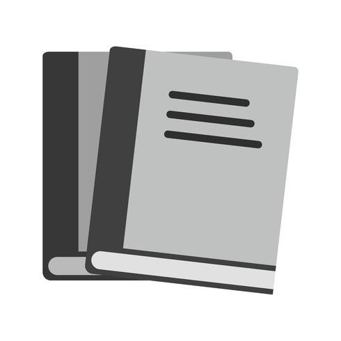 Design de ícone de livros