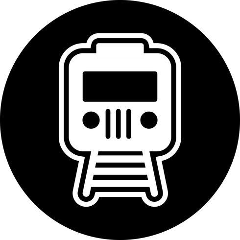 conception d'icône de train