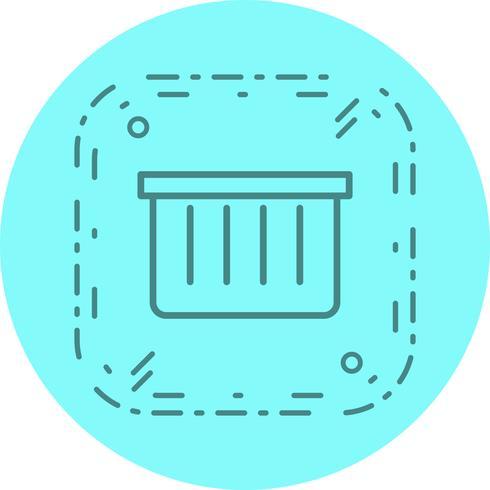 Basket pictogram ontwerp