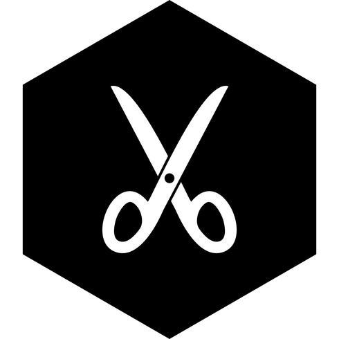 Schaar pictogram ontwerp