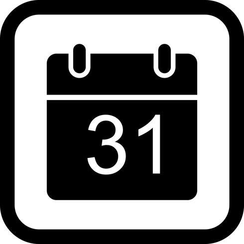 Conception d'icône de calendrier