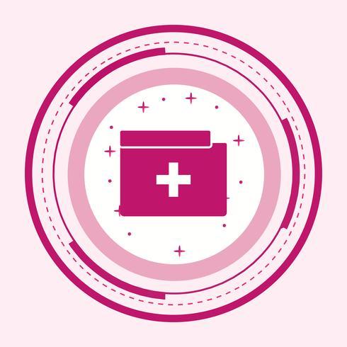Medical Folder Icon Design